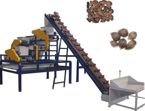 palm nut shelling machine