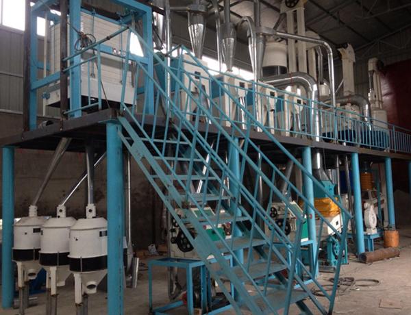 50 tons corn flour processing machinery